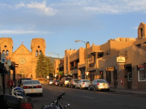 The town centre in Santa Fe Photo credit: http://www.bestoftheroad.com